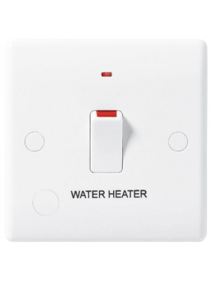 BG 833WH-01 20A DP Switched flex outlet ind HEATER