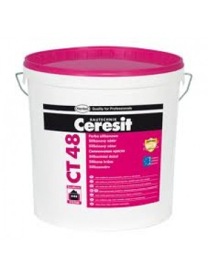 Ceresit CT48 silicone paint white - 15l