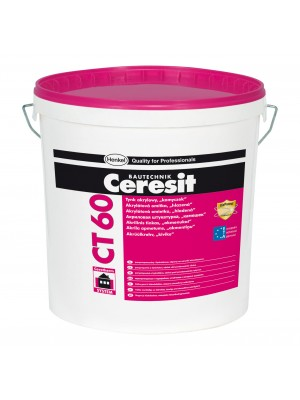 Ceresit CT60 acrylic render 1.5mm white - 25kg